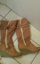 Winter heel boots