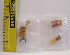 FASHION DOLL RE-MENT MINIATURE CAMPING SET FOOD ITEMS ACCESSORY 1/6 RETIRED