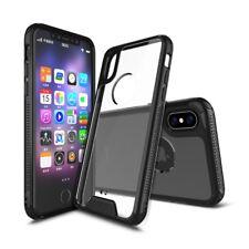 Apple iPhone X Case Hybrid Cover Slim TPU+PC Defender Transparent Clear Back
