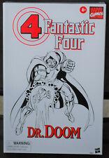 """DR. DOOM Marvel Legends Exclusive 6"""" Action Figure THE FANTASTIC FOUR Comic Con"""