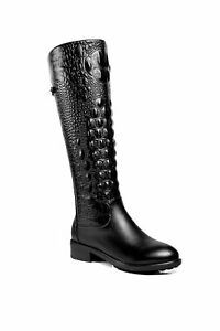 Ann Creek Women's 'Salento' Animal Print Boots
