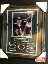 GEORGE CHUVALO AUTOGRAPH 8X10 PHOTO 16X20 FRAME - BOXING