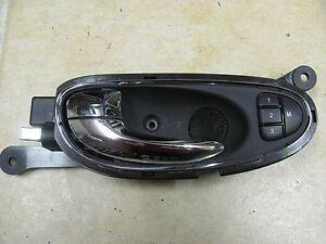 2004-2007 JAGUAR XJ8 XJ8L XJR VANDEN PLAS LEFT DRIVER FRONT INNER DOOR HANDLE