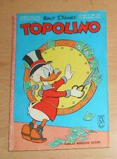ED.MONDADORI  SERIE  TOPOLINO   N°  602  1967   ORIGINALE  !!!!!
