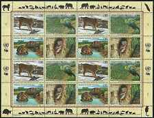 Timbres Animaux Nations Unies Genève F 424/7 ** année 2001 lot 4154