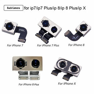 For iPhone 7 8 Plus X Rear Back Camera Flex Ribbon Cable Module Replacement new