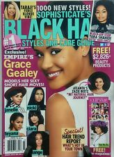 Black Hair Styles And Care Guide March April 2017 Grace Gealey FREE SHIPPING sb