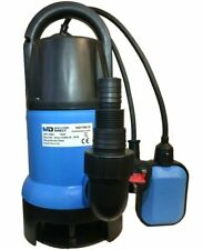 MD Electric Submersible Clean & Dirty 750w Water Pump MD750CD Flood Pool Pond