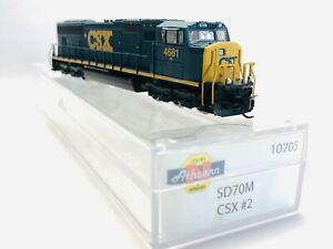 Athearn SD70M Diesellok CSX #2- Straßennummer #4681 ITEM 10705
