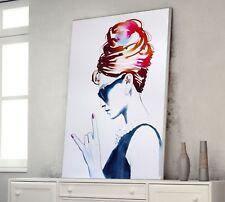 XL LEINWAND BILD 100x75x5 Audrey Hepburn Loft Design Canvas Gemälde Longe Ikea