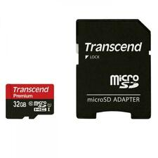 Transcend 32GB MicroSDHC Class10 UHS-1 Memory Card with Adapter 60 MB/s
