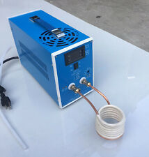 220v High-frequency Induction Heating Machine Silver Gold Melting Furnace 2000w