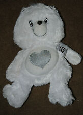 """Preowned but never played with 12"""" Care Bear Plush 25th Anniversary Tenderheart"""