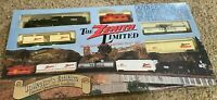 The Zenith Limited railroad HO Scale Model Electric Train Set NO tracks