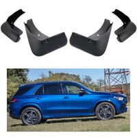 A-Premium Mud Flaps Splash Guards Compatible with Mercedes-Benz W167 GLE350 GLE450 GLE500 2019-2020 with Running Board Not Fit AMG Model 4-PC