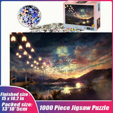 Gorgeous Fireworks 1000 Piece Jigsaw Puzzles Assembling Kid Interactive Games