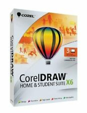 Corel CorelDRAW Home & Student Suite X6 - 3 Users Design Editi Graphics Software