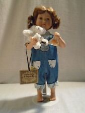 2002 Boyds Bear Little Girls & Boyds Abby and Gil Deep Sea Fishing Doll 4706