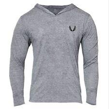 Men LIVE Thin Hoodie Long Sleeve Solid Hoodies Sweatshirt Sport Casual Tops GYXL