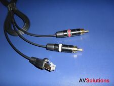 15 M. - BeoSound momento para TV/no-Bang & Olufsen Olufsen estéreo amplificador Cable (Shq)