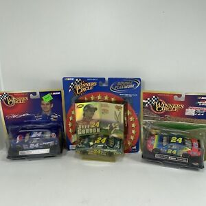 Jeff Gordon Winners Circle 1:43 Nascar Diecast Bugs Bunny and More Lot of (3)