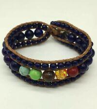 Fashion Women jewelry natural Stone Armband wrap Bracelets