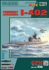 Kartonmodell Japanisches U-Boot I-402 1:200 GPM