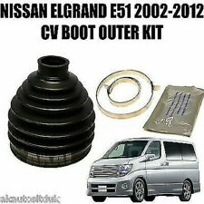 Fits NISSAN ELGRAND E51 2.5i / 3.5i 02-10 FRONT OUTER CV JOINT BOOT KIT x1