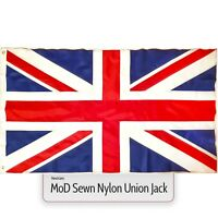 Union Jack Flag MoD Large Great Britain Nylon Sewn Fabric British GB UK 5 x 3