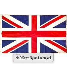 Union Jack Flag Mod * 5 X 3 Large Great Britain Nylon Sewn Fabric British GB UK