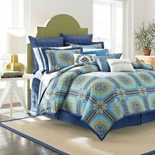Shelli Segal Bedding Blue French Riviera Queen Duvet Sham Yellow Nostalgia Home