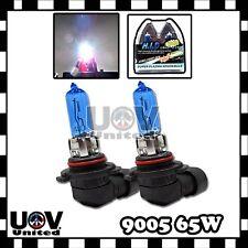 2 X  9005 65w 12v Power White Gas Xenon Halogen 5000k light Bulbs Replacement