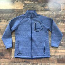 Avalanche Jacket Men's Medium Outdoor Inspired Apparel Full Zip Pockets Blue