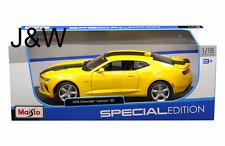 Maisto Chevrolet Camaro SS 2016 Yellow 31689YL 1/18