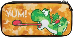 Nintendo Switch PDP Slim Travel Case - Yoshi Camo Edition New