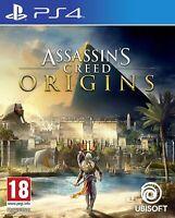 Assassin's Creed Origins - Sony PlayStation 4 PS4 [Ezio Ubisoft 18] Brand New