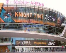 VEGAS GOLDEN KNIGHTS T-MOBILE ARENA 8X10 PHOTO Las Vegas NHL Hockey