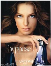 PUBLICITE ADVERTISING 095  2005  LANCOME  parfum femme HYPNOSE