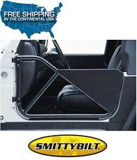 Smittybilt SRC Tubular Front Doors 97-06 Jeep Wrangler TJ LJ 76793 Black