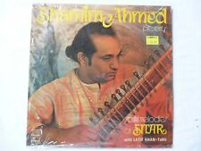 Shamime Ahmed-Soulful Melodies On Sitar-.Rare 1978 India LP-.Near Mint Condition