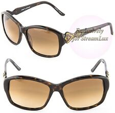 JUDITH LEIBER Sunglasses Japan Original Handmade JL 1630 02 Havana Brown