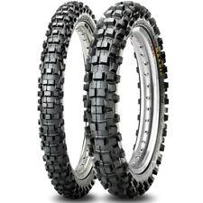 Maxxis MaxxCross IT Tyres PAIR - 120/100-18 + 80/100-21 Off Road Legal Enduro MX