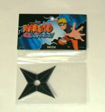 Naruto Shippuden Shuriken embroidered patch New Factory Sealed - US Seller