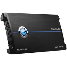Planet Audio TR50001D Torque 5000 Watt 1 Ohm Stable Class D Monoblock Car Amplifier With Remote Subwoofer Control Tr5000.1d 636210106104