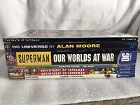 Dr OMNIBUS  DC 8 Tob Lot SUPERMAN Worlds War Bizarro Moore  Adventures