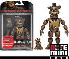 "FUNKO FIVE NIGHTS AT FREDDY'S NIGHTMARE FREDDY 5"" ACTION FIGURE 11843 - IN STOCK"