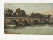 Chester The Old Dee Bridge Vintage Postcard 362a