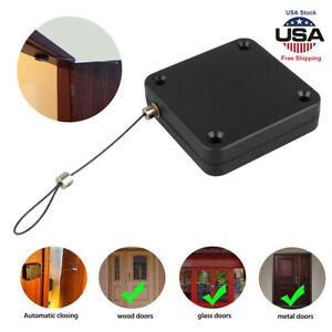 Punch-free Automatic Sensor Door Closer Portable Home Office Doors Self Closing