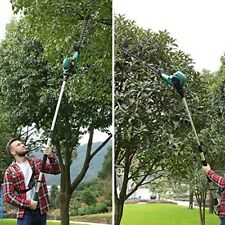 Electric Power Hedge Trimmer 9' Telescopic Pole Multi Angle Corded Comfort Grip
