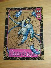 Marvel Universe Suspended Animation # 9 Doctor Octopus Fleer 1994 Spider-Man  ZN
